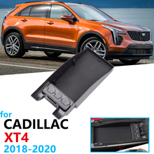 Car Organizer Accessories for Cadillac XT4 2018 2019 2020 Armrest Box Storage Stowing Tidying Anti-slip Mat Coin Box Car Box