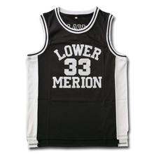 Lower Merion High School #33  Embroidered Basketball Jersey Fast Shipping