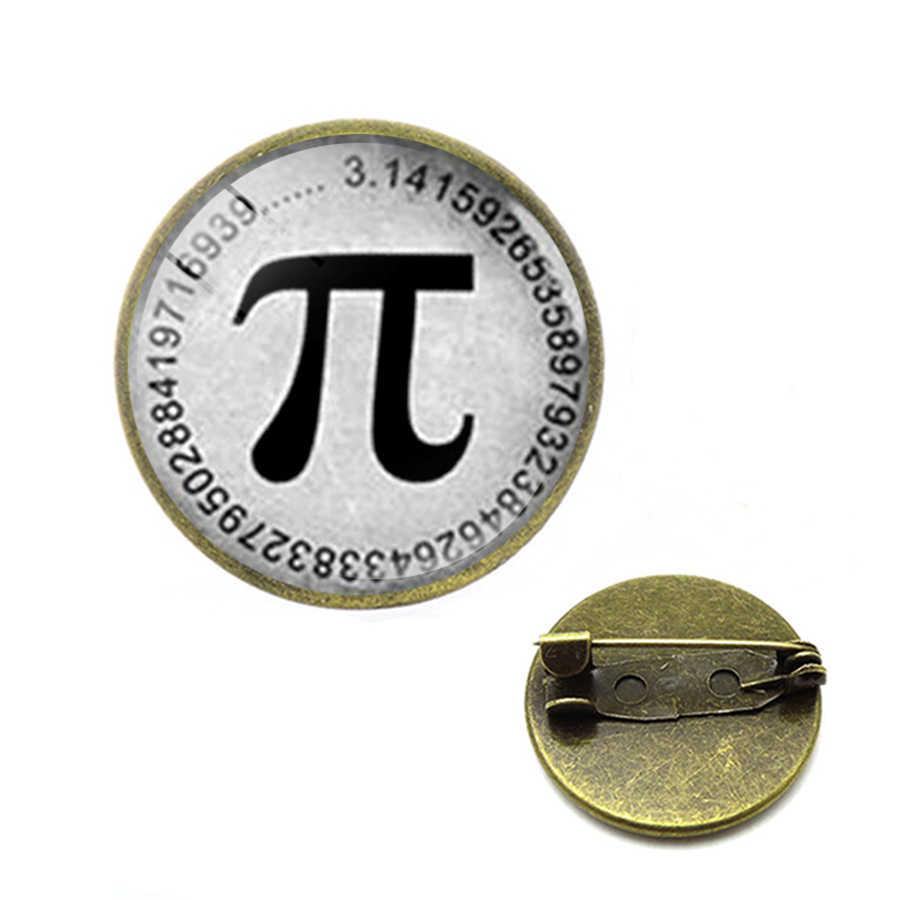 Classic Matematica Pion Pi Simbolo Spille Matematica Numeri Matematico Spilli Zaino Matematica Insegnante Regali Dei Monili Hijab Spilli