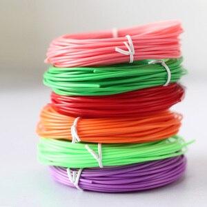 Image 5 - 3d pen printer ABS / PLA filament ,diameter 1.75mm plastic filament abs / pla plastic 20 colors ,Safety No pollution