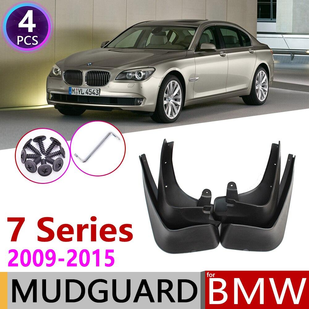 Rear Car Mud Flaps Splash Guards Protective Fender Mudguard Mudflaps Mud Guards for BMW 7 Series 730 740 750 4pcs Front Car Mud Flap