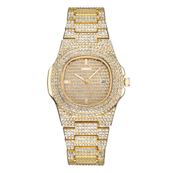 2020New luxury rhinestone bracelet watch ladies diamond fashion ladies rose gold dress watch stainless steel crystal watch clock women bracelet watch luxury brand women dress watch rose gold steel mesh female watch rhinestone diamond black clock relojs xfcs