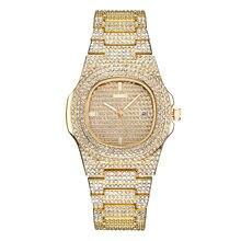 Новинка 2020new роскошные часы Стразы с браслетом женские бриллиантовые