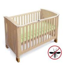 Сетчатый складной чехол для детской кроватки летнее постельное
