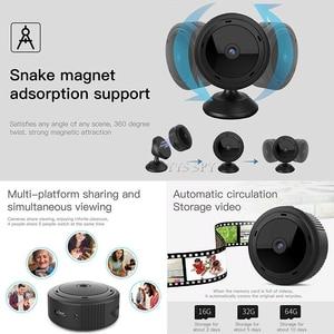 Image 3 - Wifi Mini Camera Espia 1080P Magnetic Body 8pcs Night Vision Motion Sensor HD Video Remote Micro IP Cam Support Hidden TF Card