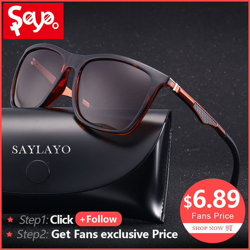 SAYLAYO 2019 New Vintage Fashion Polarized Sunglasses Women Car Driving Sun Glasses 100% UV400 protection retro Goggles Eyewear-in Women's Sunglasses from Apparel Accessories on AliExpress