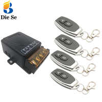 433MHz Universal Fernbedienung Schalter AC 110V 220V 30A 1CH rf Relais Empfänger und Sender für Elektrische appliance Auf/Off