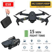 2020 new E68 WIFI FPV With Wide Angle HD 1080P Camera Hight Hold Mode Foldable Arm RC Quadcopter Drone X Pro RTF Dron
