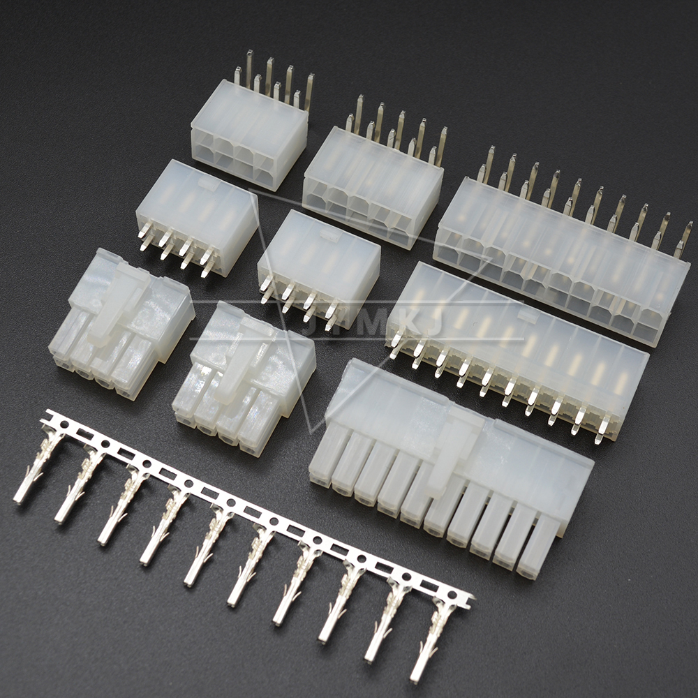 5557/5569 2x2/3/4/5/6/7/8/9/10/11/12Pin 24Pin 4.2mm Pitch Terminal/Housing/Pin Header Wire Connector Adaptor 5557 5559 Kits