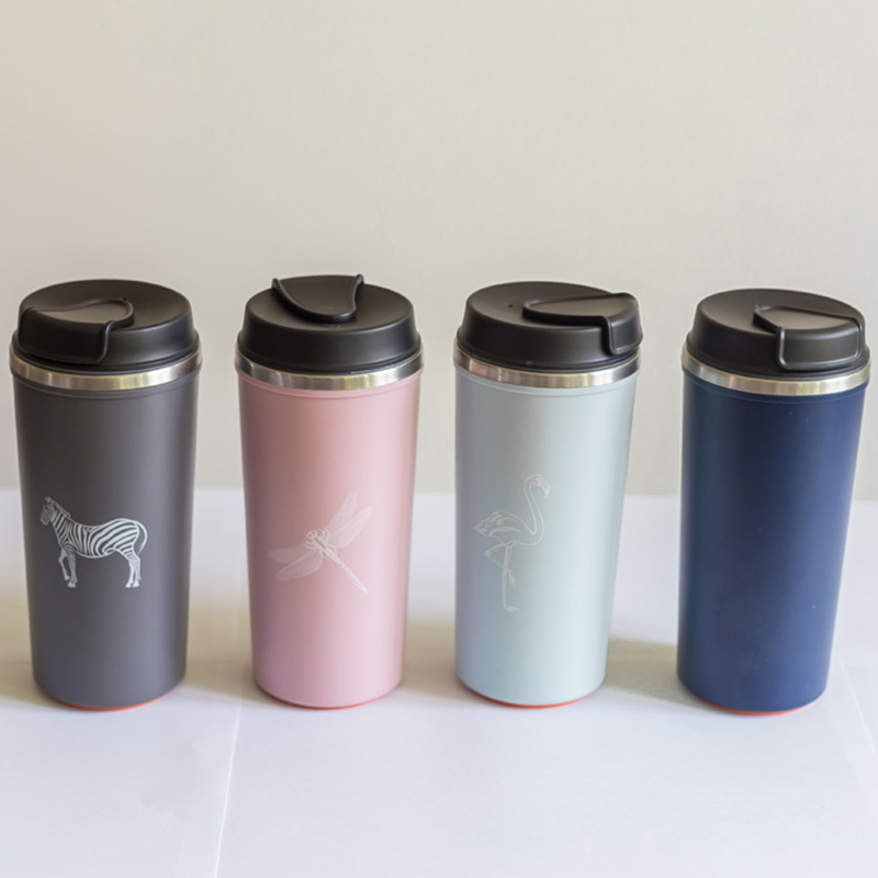 Thermos Bottle 500ML Does Not Fall Cup Coffee Cup Travel Seal Stainless Steel Vacuum Flasks Thermo Mug For Car Water Bottles