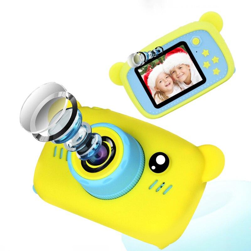 Мультяшная цифровая камера, детские игрушки, креативная развивающая игрушка для детей, аксессуары для обучения фотографии, подарки на день рождения, детские товары