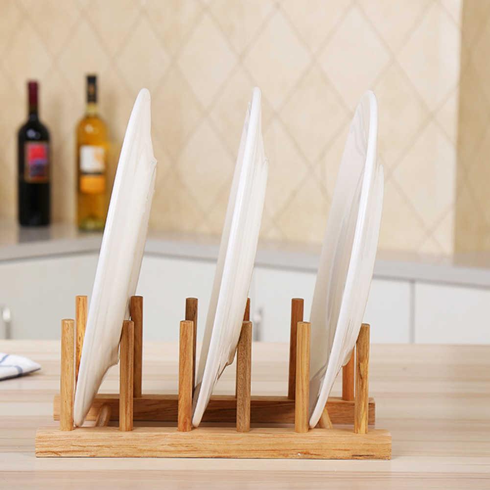Cucina di casa Piatto Piatto Holder Asciugatura Filtro di Scarico Scaffale Rack di Stoccaggio Organizzatore