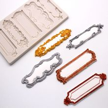 Number Name Doorplate Resin Mold Display Board Slilcone Resin Molds Jewelry Tool