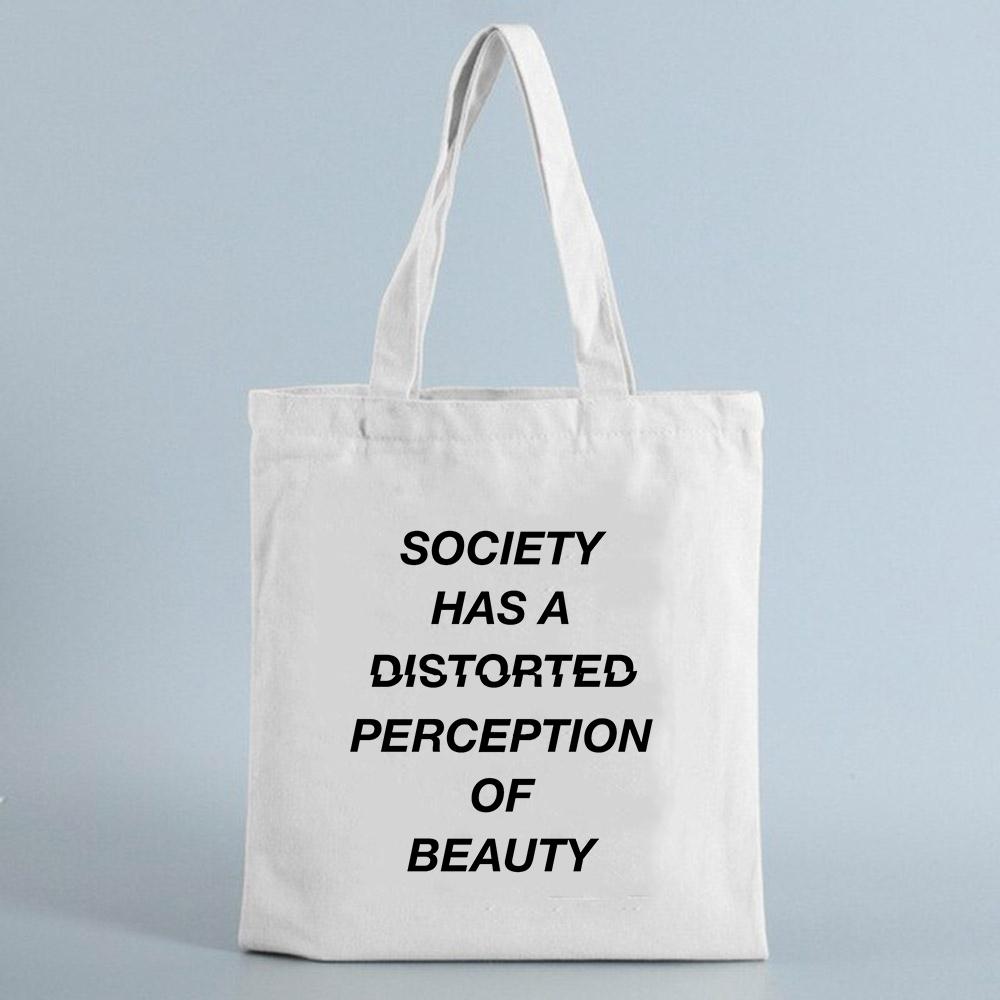 Tote bag imprimé à message Créer Son T Shirt