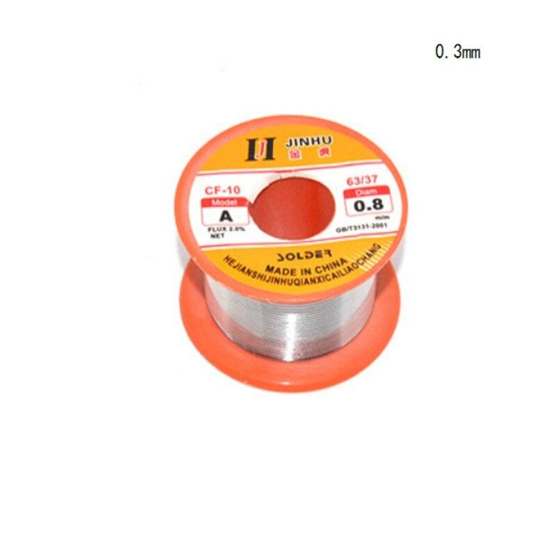 High Purity Solder Wire No-clean Low Temperature  Soldering Supplies 0.3/0.4/0.5/0.6/0.8/1.0mm Rosin Core Welding Wires Solda