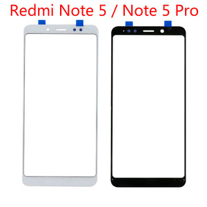 Touch Screen For Xiaomi Redmi Note 5 Pro LCD Display 5.99'' Outer Front Glass Replacement Spare Parts