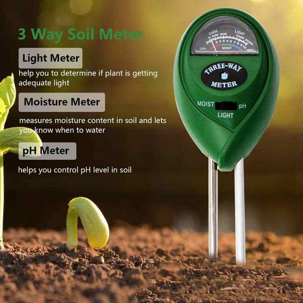 Тестер батарей, 3/4 в 1 pH светильник влаги кислотности Тестер измеритель влажности почвы тестер комплект для цветов