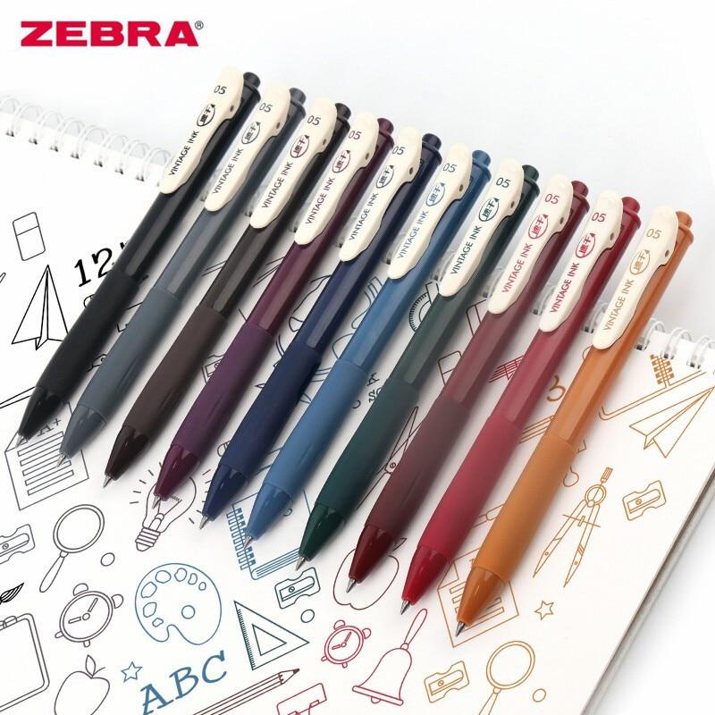 5/8/10/20pcs Japan Zebra SARASA CLIP JJ15 Colour Gel Ink Pen 0.5mm Conventional /Milk /Vintage/Neon Color 43 Colors Optional