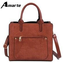 Amarte Fashion Women Handbags New Wild Fire Smiley Bag Casual Business Shopping Party Shoulder Sac Main Femme Torebki Damskie