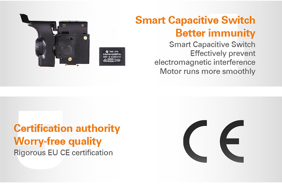 Smart Capacitive Switch with better immunity