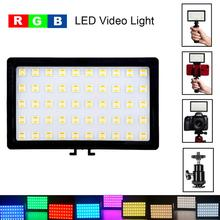 CL-120C Mini RGB LED Video Light 3200K-5600K Dimma