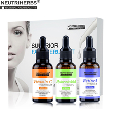 Superior Vitamin C  Serum Hyaluronic Acid Serum Retinol Serum for Face Whitening Lifting Sun Spot Anti Aging Wrinkle