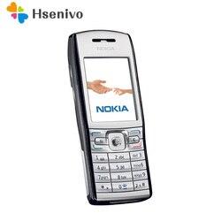 100% Оригинальный телефон Nokia E50 2,2 дюйма разблокированный телефон 9,1 МП MP3 Bluetooth Symbian OS Бесплатная доставка