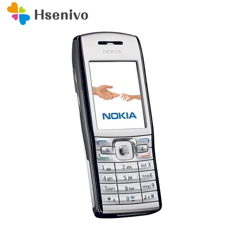 100% original Nokia E50 phone 2.2 inch unlocked phone 1.3MP MP3 Bluetooth Symbian OS 9.1 free shipping image