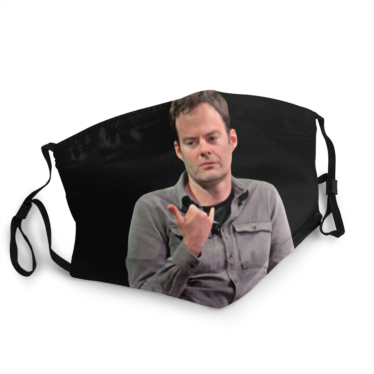 Barry Bill Hader Non-Disposable Face Mask Anti Haze Dust Mask Protection Mask Respirator Mouth Muffle