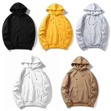 Mens Plus Size Casual Pullover Tops Raglan Sleeve Drawstring Hoodies Solid Color Loose Basic Sweatshirt Streetwear with Pocket недорого