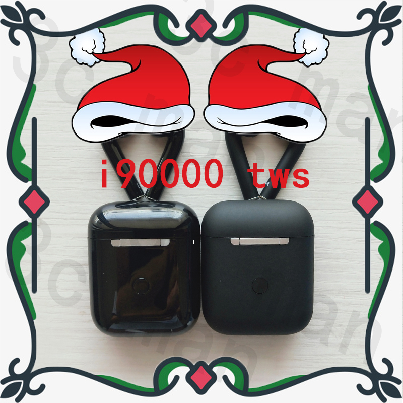 Original i90000 tws matte black super copy Air 2nd bluetooth earphone 1536U Chip 6D heavy bass earbuds PK i7s i200 i500 i9000|Bluetooth Earphones & Headphones| |  - title=