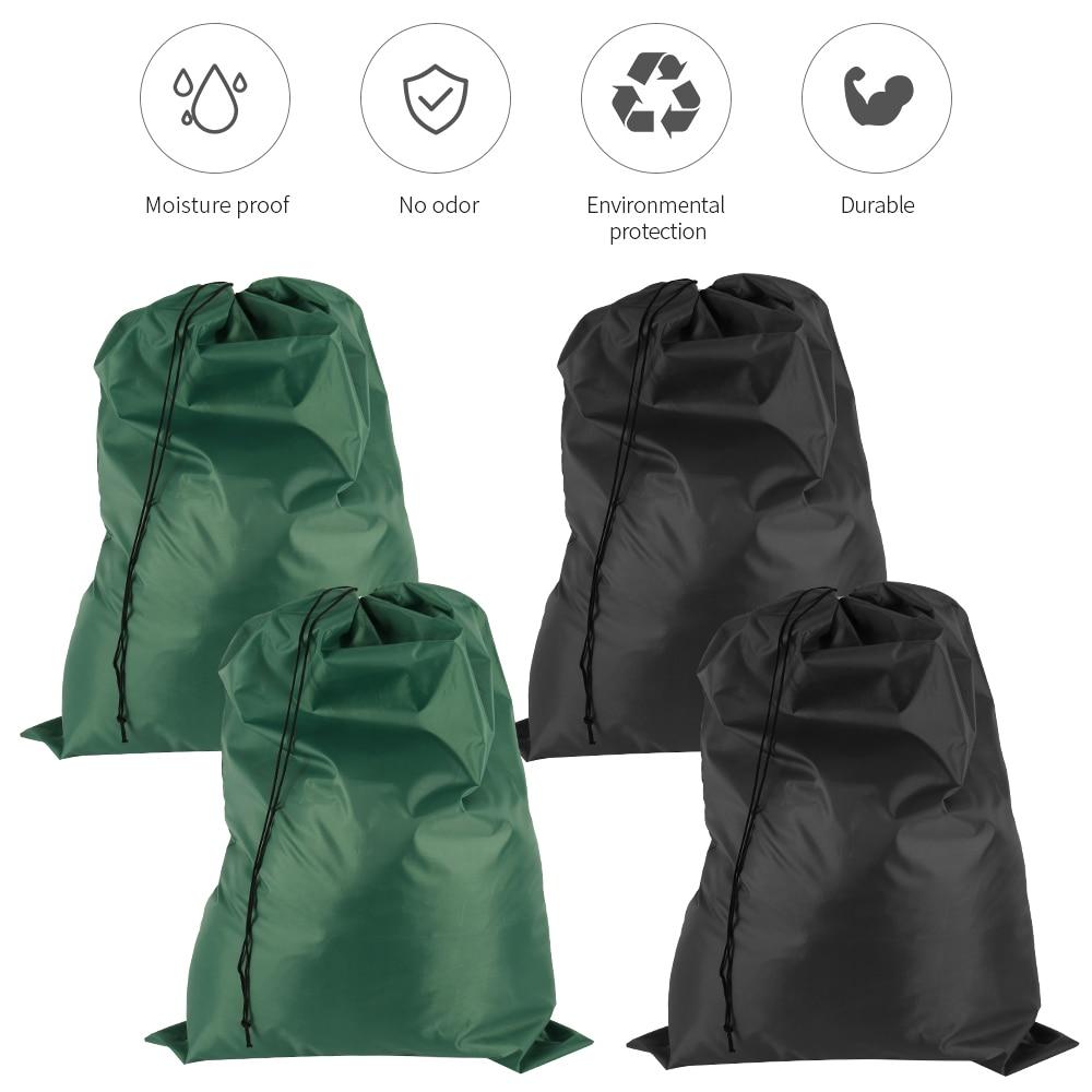 Set of Two Foldable Laundry Bags Eco-friendly Home Laundry Bags & Baskets cb5feb1b7314637725a2e7: Black Green