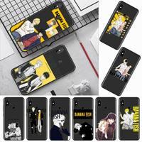 Custodia per telefono Anime giapponese Banana Fish Anime art per Xiaomi Redmi mi note max 3 5 6 8 9 10 t S SE lite pro borse in Silicone morbido