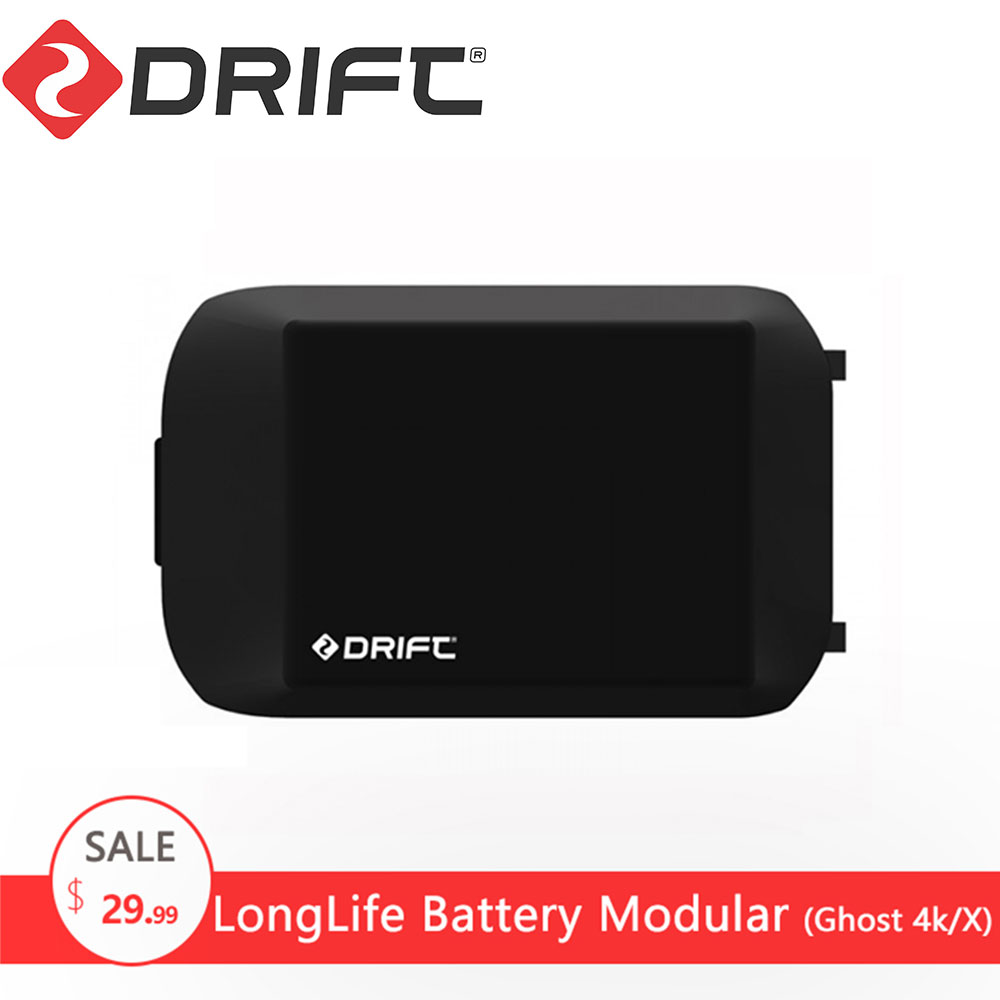 Drift Action Sports Camera Accessories extra Long Life Battery Module for Ghost 4k/X