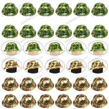 Legoinglys Helmet Military Figures Camouflage Force Building Block Soldier Boy WW2 Equipment Benni Cap Childrens Christmas Toys