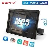 10.1 Car Rear Seat Headrest Screen Monitor MP4 MP5 HD Video Multimedia Player Touch Screen Mirror Link IR/FM SH1028 P5