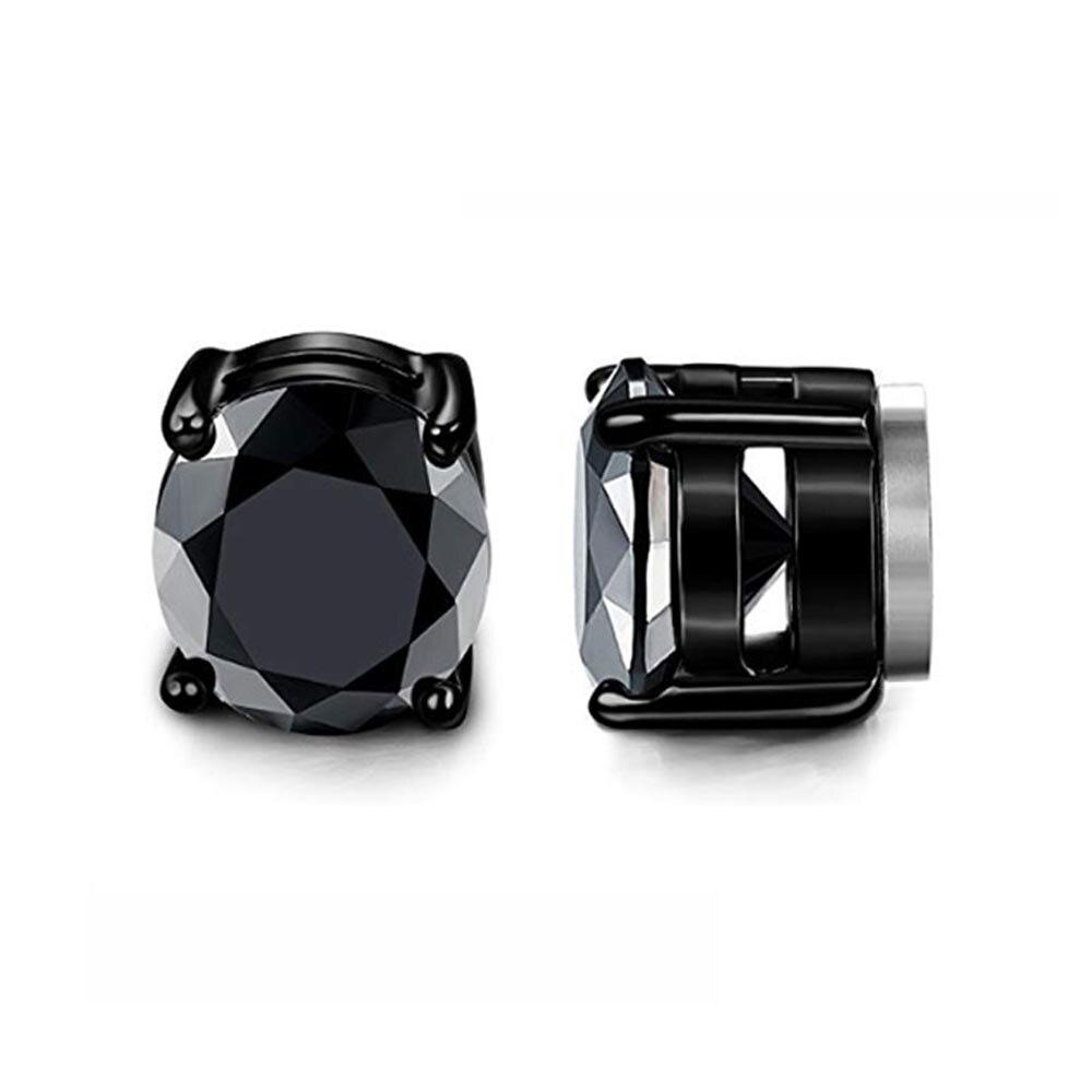 Black Round Zircon