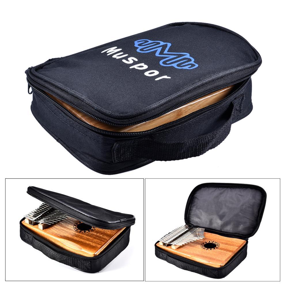 Universal 17/15/10 Key Kalimba Storage Bag Inside Cotton Portable Thumb Piano Mbira Sanza Soft Case Carrying Handbag