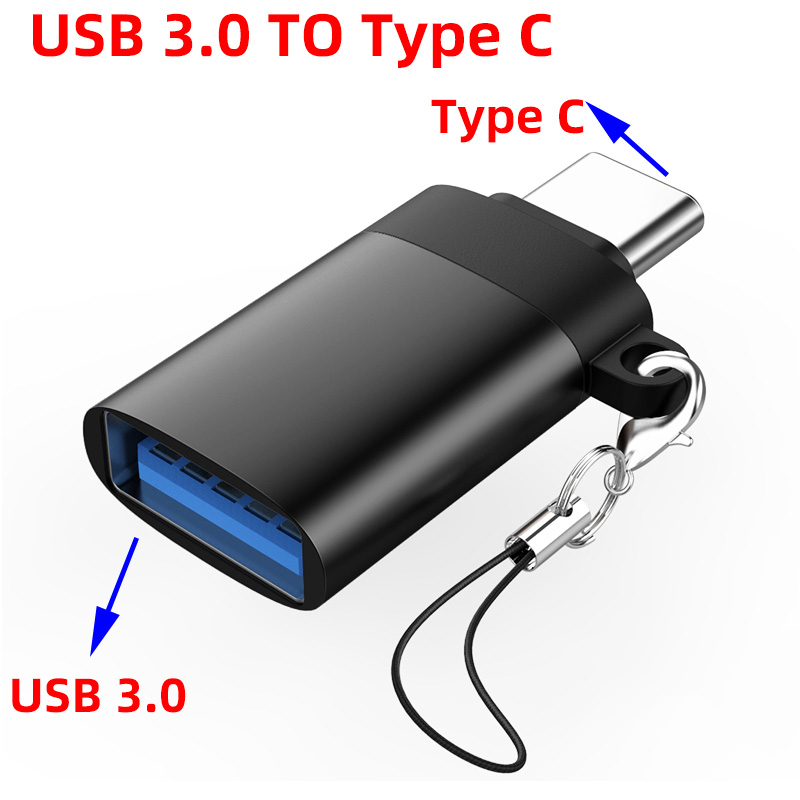 USB Type C OTG Adapter USB C To USB 3.0 OTG Type-C Converter For Macbook Samsung S10 S9 Huawei Mate 20 P20 USB-C Connector