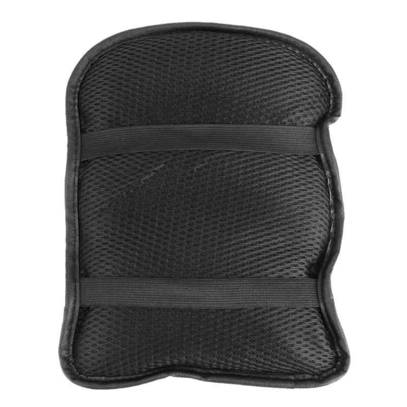 Evrensel araba PU deri yumuşak merkezi kol dayama konsol kutusu koruyucu örtü yastık kol dayama koltuğu koruyucu ped Mat oto aksesuarları
