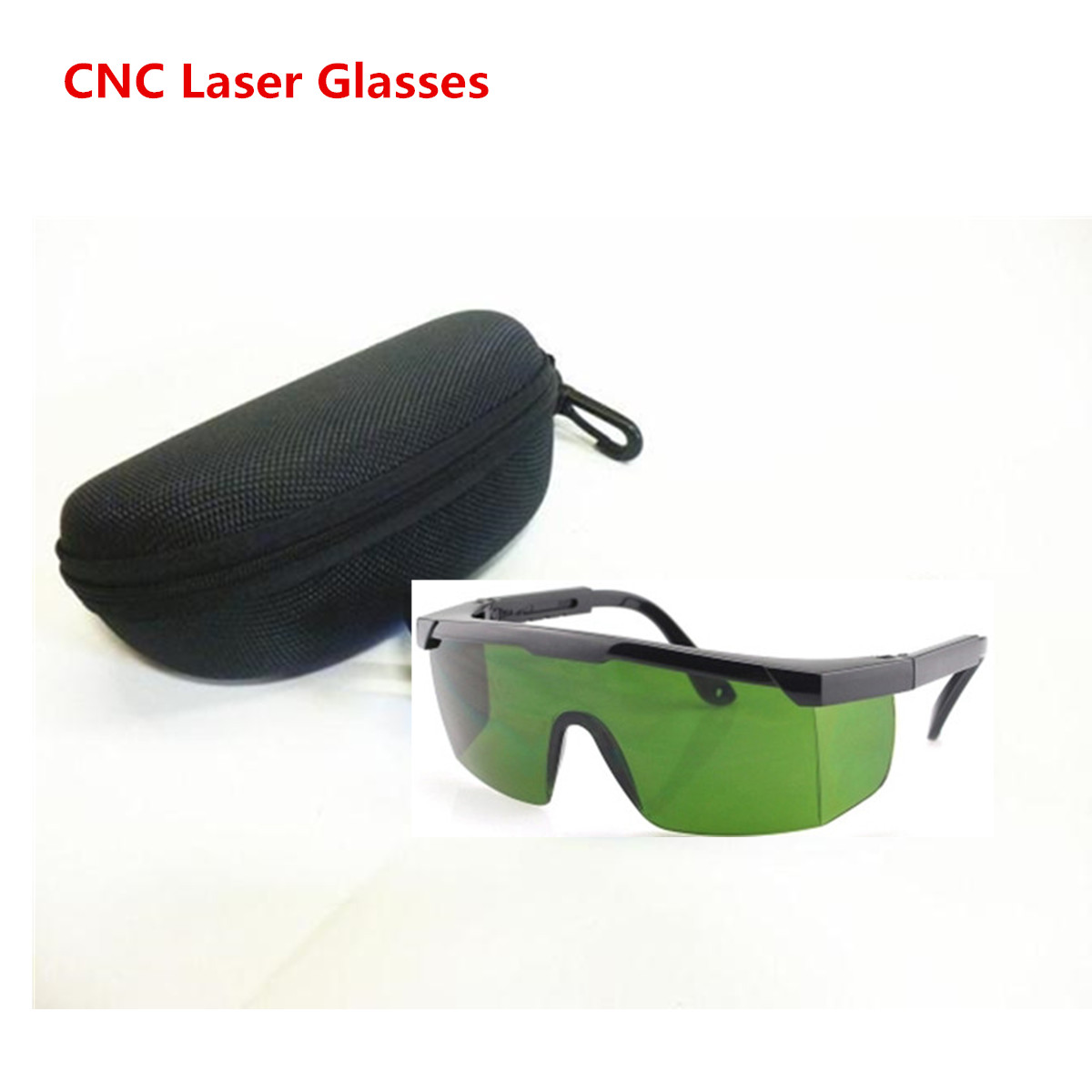 CNC Laser Safety Glasses Purple Blue 190nm-1200nm Welding Laser IPL Beauty Instrument Protection Eyewear Eye Protective Glasses