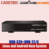 Beste ZGEMMA Satellite Empfänger H10 COMBO DVB-S2X/T2/C Hi3798MV200 Gebaut-in WIFI 4K UHD Linux enigma2 & Android Satellite Decoder
