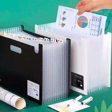 Stationery Organizer File-Folder Document Desktop Waterproof Expanding 13-Layer Subject