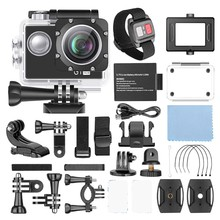 GoPro-cámara deportiva 4k 1080p, Original, Ultra HD, para buceo en vivo al aire libre, HERO 8, color negro, impermeable, con pantalla táctil