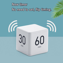 Kitchen Timer Magic Cube Creative Timer 5/15/30/60 Minutes Alarm Time Management Family Kids Yoga Office Workout Home Timer