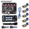 BIGTREETECH BTT SKR V1.4 SKR V1.4 توربو 32 بت اللوحة TFT24 V1.1 شاشة تعمل باللمس ترقية SKR V1.3 TMC2209 محرك متدرج سائق