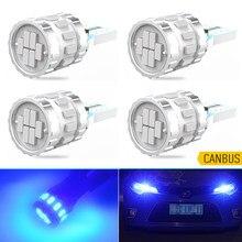W5W T10 Car LED Bulb Canbus No Error Auto Lamp For BMW E90 E46 F10 E39 E60 E30 E36 E92 F20 E87 X3 E83 E87 Mini Cooper Blue