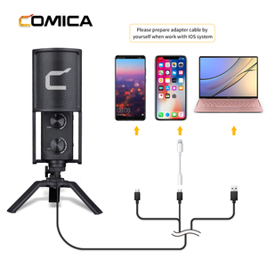 Image 4 - Comica STM USB Versatile Studio Quality USB Cardioid Condenser Microphone for Games,Streaming Broadcast,YouTube Video Recording