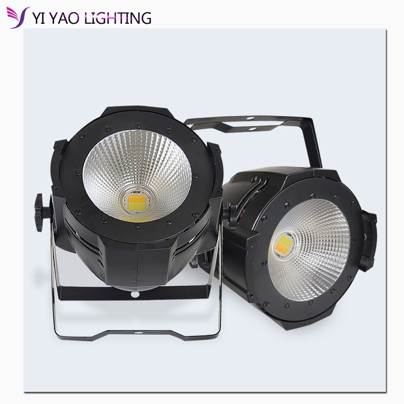 Led Par 100W/200W COB Light With Barn Doors Dmx Controll Stage Lights For Dj Booth Market Disco Church Garden Effect Lighting
