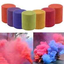 2x2 см блок цветной дым портативный фокусы реквизит